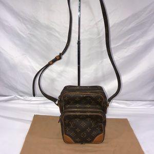 Authentic Louis Vuitton Mono Amazone Crossbody
